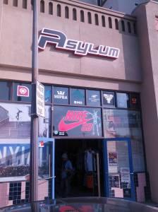 asylum skateshop