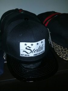 stelth hat division black