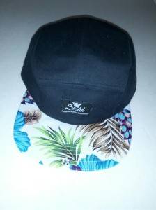 sentry 5 panel hibiscus flower brim