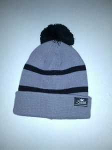 opts beanie grey and black