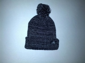 opts pompom beanie dark grey