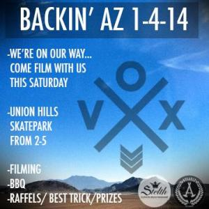 vox flyer  back in az