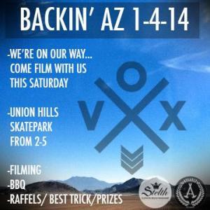 vox flyer  back in az