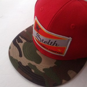 captial snapback red