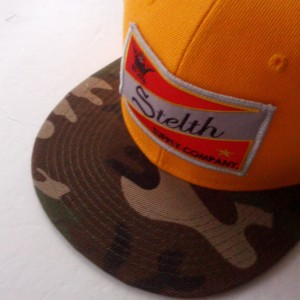 stelth capital snapback yellow