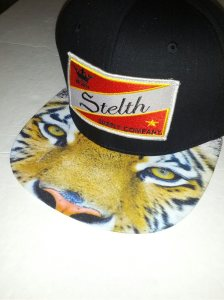capital tiger strap back