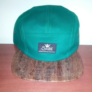 sentry  green wood brim