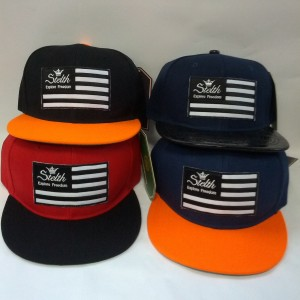 stelth flag hats