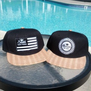 flag and seal wood brim