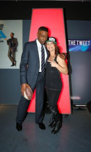 Jen welter and arsenion hall